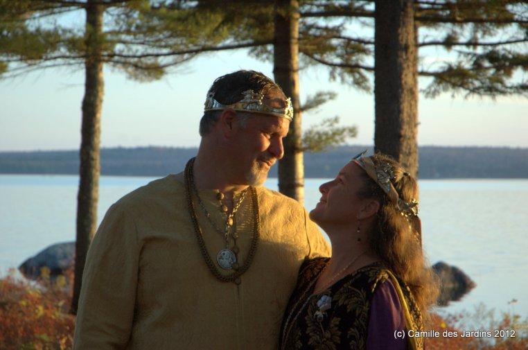 Prince Gregor and Princess Kiena