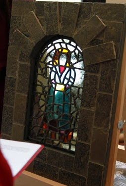Medieval Stained Glass, Lady Solskinn