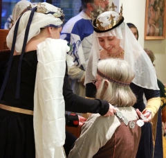 Lady Ose Silverhair made Queen's Champion in court last year.