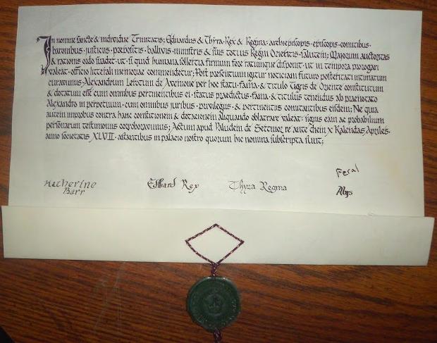 Alexandre's Tyger Scroll