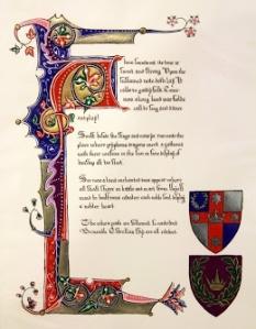 Lochac - C: Eleanor Catlyng, I: Lisabetta Megdalia