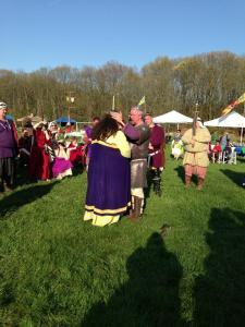 Kenric crowning Avelina