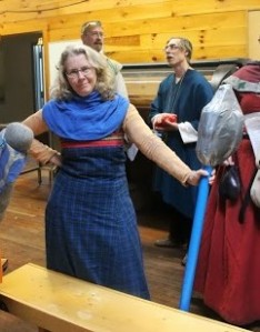 Mistress Catrin o'r Rhyd For, the Director of Carnage, with her Shake-spear