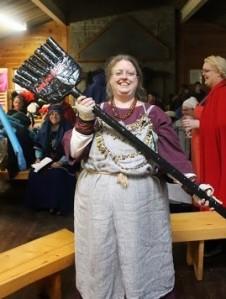 Despotissa Margarita Kofinopoia, Scourge of Somethingorother, with her broom