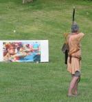Orvar shoots evil minions