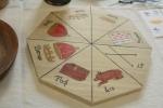 from Artifacts I in 2013, a Pockspiel board by Jan Janoeicz Bogdanski