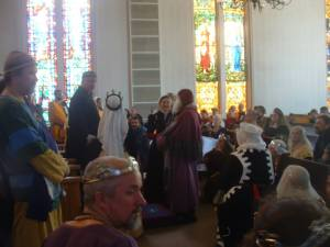 Endewearde Baronial Investiture, Sept. 28, 2013 - Photo by Mistress Bess Darnley