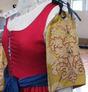 Embellished sleeves - photo by Bronwen Rose of Greyling