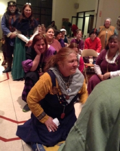 Brose receives Silver Crescent - photo by Katherine O'Brien