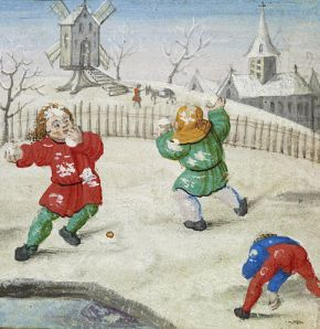 Flemish-Snowball-Fight-Walters-W42512R-c1510
