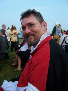 Don Edmund at Pennsic XXXIX - photo courtesy of Baroness Vienna