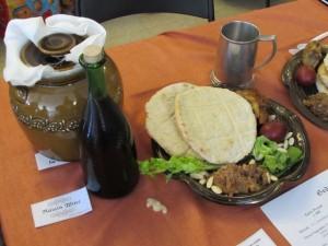 a Seder feast