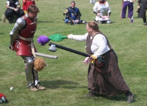 Sir Geoffrey's Flail faces off against the Delicate Flower of the Northern Army