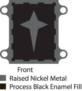 Northern Army Belt Placard