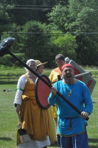 Grim the Skalding with his giant ladle at the first LvP