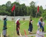 Pennsic 43 Archery - Castle Window shoot