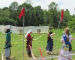 Pennsic 43 Archery - Castle Window shoot