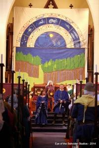zodiacal mural