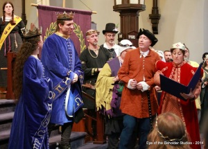 astrologers address Their Majesties