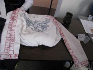 Viking embroidered blouse