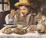 The Beaneater by Annibale Carracci, 1580-90.