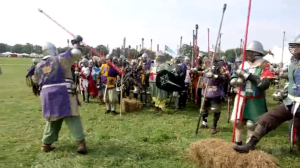 NBC News - coverage of Pennsic 43