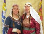 Lady Jeanne de Robin and Lady Genovefa Clerica