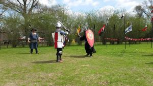 Count Cellach MacChormach Midrealm vs King Titus Germanicus of Aethelmearc