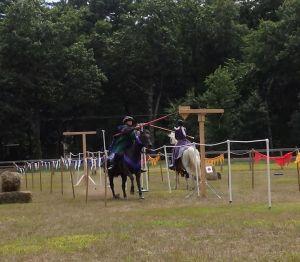 Mistress Sylvia du Vey on Ginny vs Baroness Alanna of Skye on Tesoro