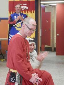 Ursion de Gui sent to Vigil to contemplate joining the Order of the Laurel. (Photo by Brunissende Dragonette de Broceliande.)