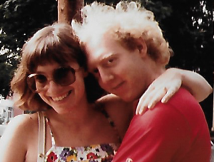 Josh Friedman with his wife, Amy