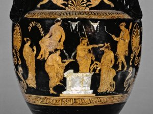 The Sacrifice of Iphegenia. British Museum Catalog #1865,0103.21, copyright The Trustees of the British Museum