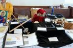 Metal work and jewelry by Anton LaFlamme de Saint Aubin