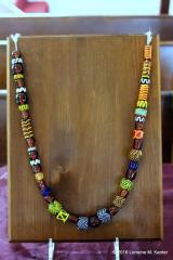 Close-up of Elysabeth's beads. Photo by Lady Cassandra Blondel de Saint Aubin.