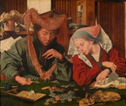 The Money Changer and His Wife -  Marinus van Reymerswaele