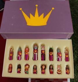 East Kingdom themed chess set. Photo courtesy of Michael Broggy