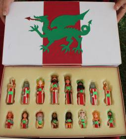 Midrealm themed chess set. Photo courtesy of Michael Broggy