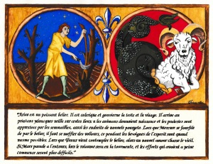 Aries by His Excellency Master Ursion de Gui