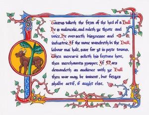 Taurus by Lord Vettorio Antonello