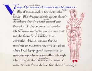 Virgo by Mistress Rhonwen glyn Conwy