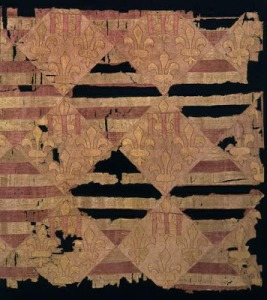 The Anjou Textile. Budapest History Museum.