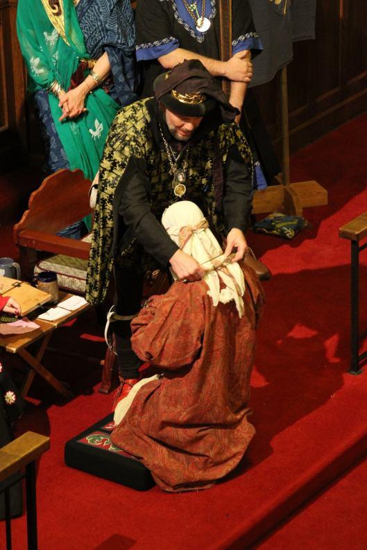 Lady Raziya is chosen as King's Arts and Sciences Champion