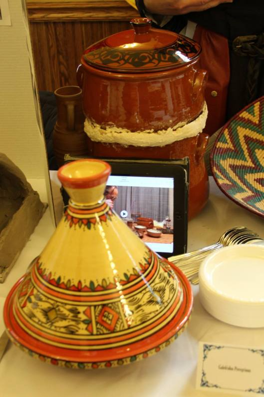 Magister Galefridus's entry included couscous and stew cooked in a special pot
