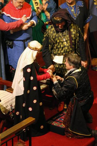 Maestro Orlando is inducted into the Order of the Troubador
