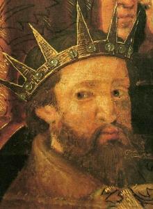 King Martin I of Aragon. By Pedro Núñez y Enrique Fernández - Retablo de San Severo. Traslado de las reliquias del santo a Barcelona, 1542. De la información: Cornudella i Carré, Llibre d'or de l'art català, cap. Renaixement i Barroc, pp. 88-89., Public Domain, https://commons.wikimedia.org/w/index.php?curid=20265344
