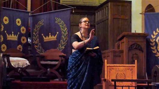 Countess Megha performing in the finals.