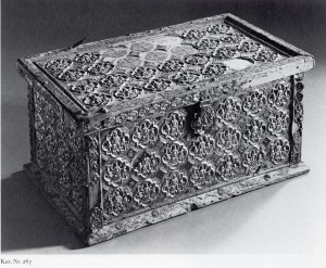 Sion chest, from A History of Handknitting.