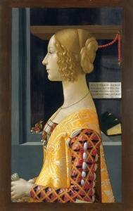Figure 8. Domenico Ghirlandaio. Portrait of Giovanna Tornabuoni. 1488. Madrid, Museo Thyssen-Bornemisza.