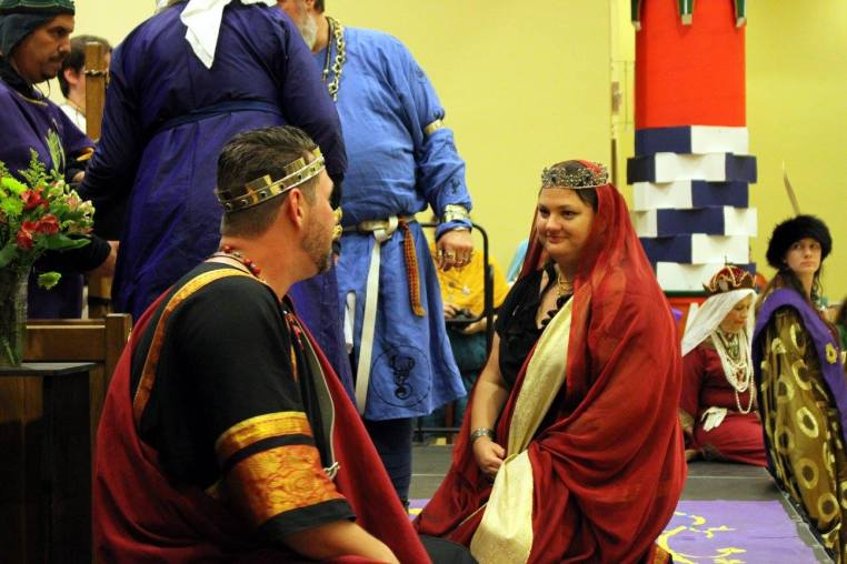 Newest Count and Countess of the East. Photo by Cateline La Broderesse