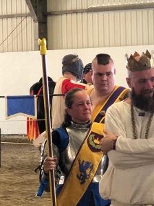 Duchess Kiena Stewart, King's Equestrian Champion